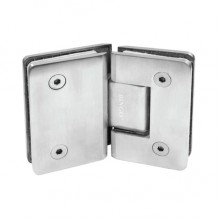 BINGO® SH-202-S Stainless Steel Shower Hinge - Glass to Glass (135°)