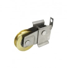 DAL® MR-001-B Sliding Door Roller - Brass Wheel