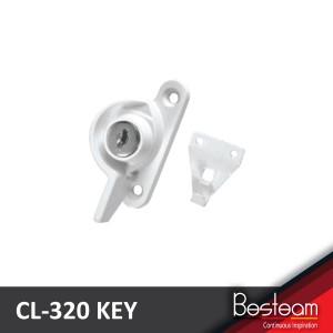 DAL® CL-320 KEY Window Crescent Locks with Key - Right