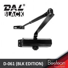 DAL® D-061 BLACK EDITION Door Closer / Self Close -Non-Hold Open