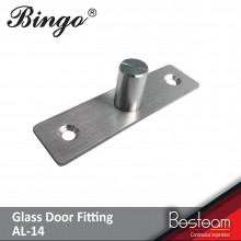 Bingo® AT-14 / Stainless Steel Top Pivot Hinges Floor Spring for Glass Door & Patch Fitting
