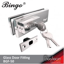 Bingo® BGF-50 Stainless Steel Glass Door Lock Patch Fitting