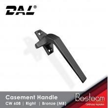Casement Window Handle Solid Aluminium - Right | DAL® CW-608 ( 120 pcs Pack)