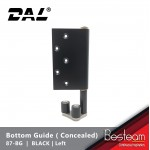 Bottom Guide for Folding Door  - Concealed Right / Left  | DAL® 87-BG