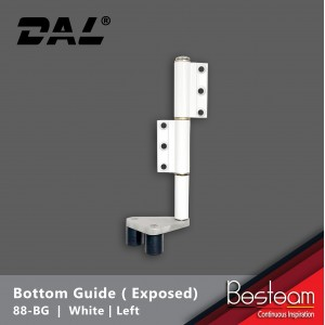 Bottom Guide for Folding Door  - Exposed Right / Left  | DAL® 88-BG