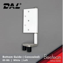 Folding Door Bottom Guide - Concealed Right / Left  | DAL® 89-BG