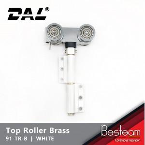 Folding Door Top Roller with Brass Wheel   DAL® 91-TR-B