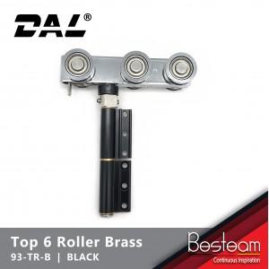 Top Roller with 6 Brass Wheel Folding Door   DAL® 93-TR-B