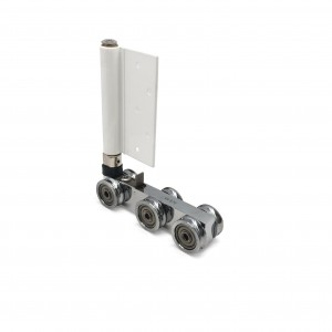 Folding Door Top Roller - Concealed with 6 Brass Wheel | DAL® 96-TR-B
