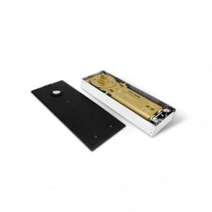 Black Series Floor Hinges / Spring / Door closer & Patch Fitting Lock Set for Glass Door   Bingo®
