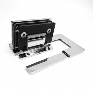 Bathroom Glass Shower Cubicle Premium Shower Hinge screws concealed PSH-804 - Glass to Wall 90° | BINGO®