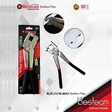 Crimping Plier 10'' Mini Stud Crimper Plaster Board Light Steel keel clamp punch Drywall Tool with spare head | BLM-212 BLIMAX