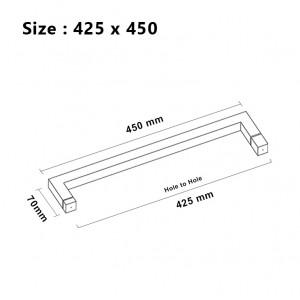789i Shower Glass Door Pull Handle SUS304 | Bingo®